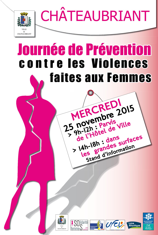 Châteaubriant Affiche Solidarité Femmes 1