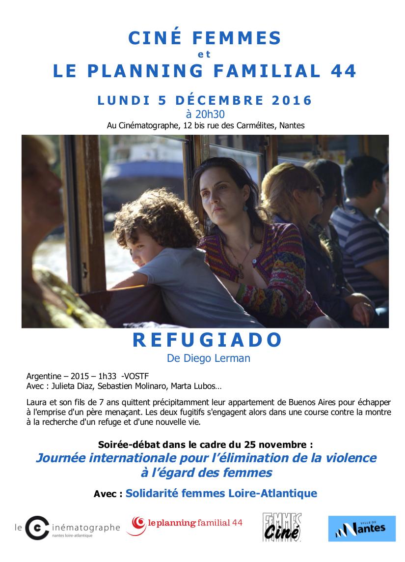 Flyer Réfugiado