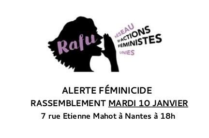 Rassemblement RAFU mardi 10 janvier 2017